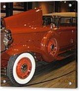 Antique Car Acrylic Print