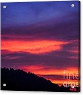 Appalachian Sunset Acrylic Print