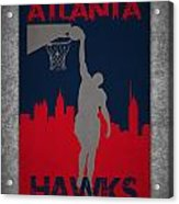 Atlanta Hawks Acrylic Print