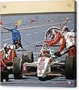 Automobile Racing Acrylic Print