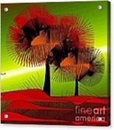 Autumn Colours Acrylic Print by Iris Gelbart