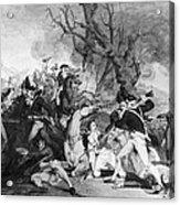 Battle Of Princeton, 1777 Acrylic Print