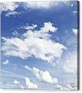 Big Blue Sky Acrylic Print