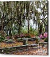 Bonaventure Cemetery Savannah Georgia Acrylic Print