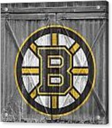 Boston Bruins Acrylic Print