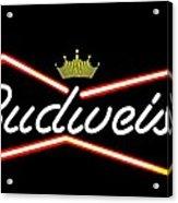 Budweiser Acrylic Print