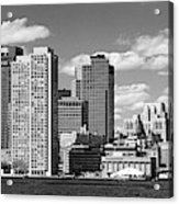 Buildings At The Waterfront, Boston Acrylic Print