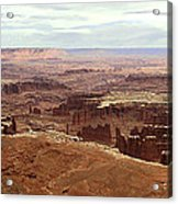Canyonlands National Park In Utah Acrylic Print