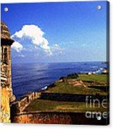 Castillo De San Cristobal Acrylic Print