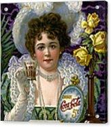 5 Cent Coca Cola - 1890 Acrylic Print
