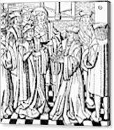 Charles Martel (c688-741) Acrylic Print