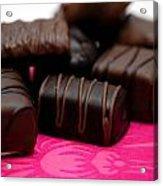 Chocolate Candies Acrylic Print