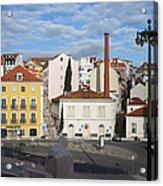 City Of Lisbon In Portugal Acrylic Print