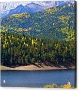 Crystal Lake On Pikes Peak Acrylic Print
