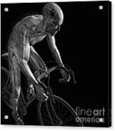 Cycling Acrylic Print