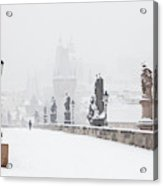 Czech Republic, Prague - Charles Bridge Acrylic Print