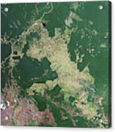Deforestation In The Amazon Acrylic Print