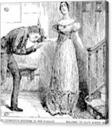 Dickens Martin Chuzzlewit Acrylic Print