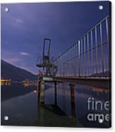 Diving Board Acrylic Print