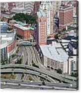 Downtown Providence Rhode Island Acrylic Print