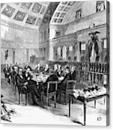 Electoral Commission, 1877 Acrylic Print