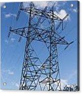Electricity Pylon Acrylic Print