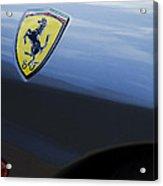 Ferrari Emblem Acrylic Print