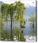 Flooding Alpine Lake Acrylic Print