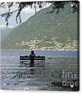 Flooding Lake Acrylic Print