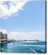 Florida Beach Scene Acrylic Print