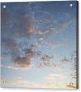 Fluffy Clouds Acrylic Print