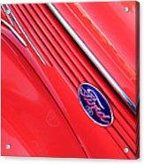 Ford Emblem Acrylic Print