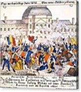 France Revolution, 1848 Acrylic Print