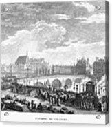French Revolution, 1791 Acrylic Print