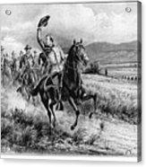 George Armstrong Custer (1839-1876) Acrylic Print