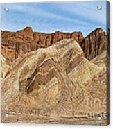 Golden Canyon Death Valley National Park Acrylic Print