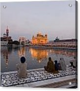 Golden Temple Acrylic Print