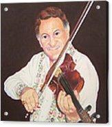 Gypsy Fiddler Acrylic Print