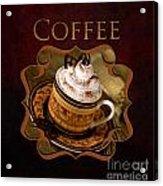 Cappuchino Coffee Gallery Acrylic Print