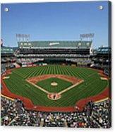 Houston Astros Vs. Oakland Athletics Acrylic Print