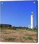 Hurst Point Lighthouse Acrylic Print