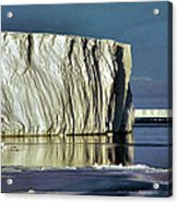 Iceberg In The Ross Sea Antarctica Acrylic Print