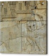 Iran Persepolis Acrylic Print