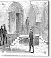 Johnson Impeachment, 1868 Acrylic Print