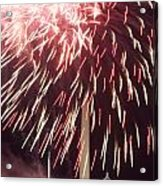 July 4th Fireworks Acrylic Print by JP Tripp