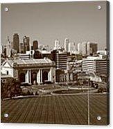 Kansas City Skyline Acrylic Print