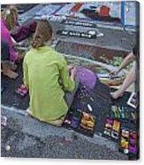Lake Worth Street Painting Festival Acrylic Print