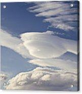 Lenticular Clouds Acrylic Print