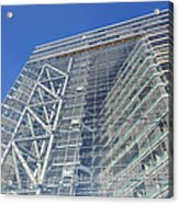Low Angle View Of An Office Building Acrylic Print