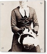 Lucy Hayes (1831-1889) Acrylic Print